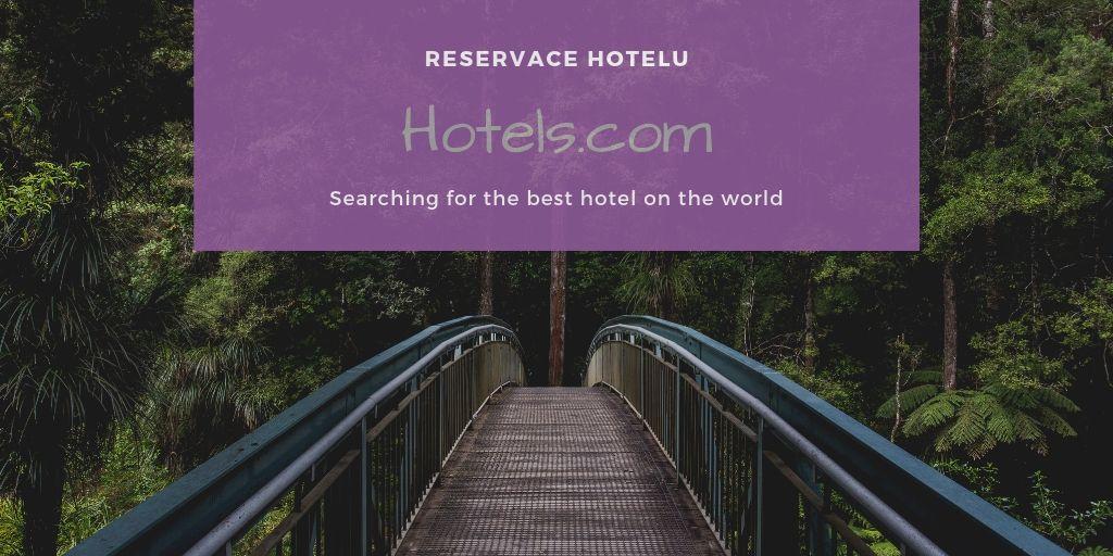 Hotels.com – rezervační systém