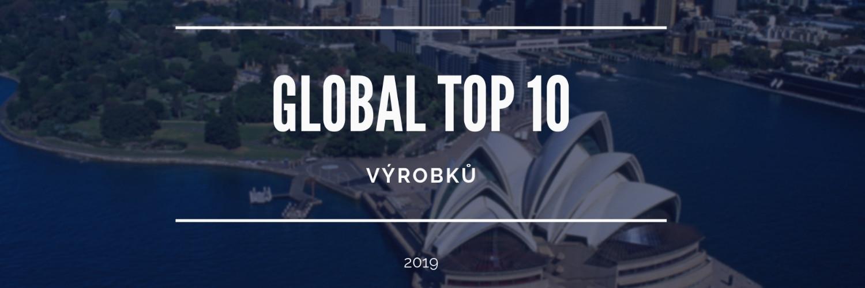Top 10 nejlépe hodnocených výrobků ze zahraničí v roce 2019